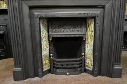 Victorian Tiled Insert - 2086TI - The Antique Fireplace Company