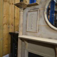 Original Edwardian Pine Fire Surround 3006WS Antique Fireplace Company