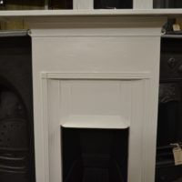 Painted Edwardian Bedroom Fireplace 2059B Old Fireplaces