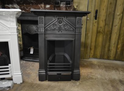 Victorian 'Daisy' Bedroom Fireplace 3020B Antique Fireplace Company