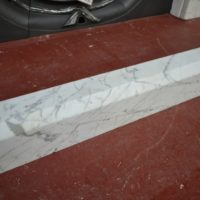 Carrara Marble Fender 3034FE Antique Fireplace Company