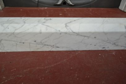 Carrara Marble Fender 3034FE Antique Fireplace Company