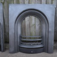 Early Victorian Arched Insert - 3013AI - The Antique Fireplace Company