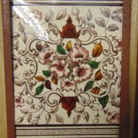 Victorian Fireplace Tiles V009 Old Fireplace Company