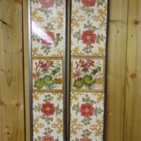 Floral Victorian Fireplace Tiles V025 Old Fireplaces