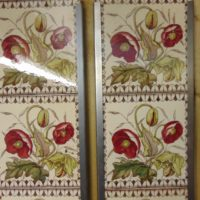 Poppy Victorian Fireplace Tiles V093 Old Fireplaces