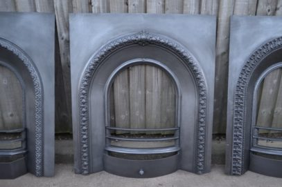 Victorian Cast Iron Insert - 3018AI -The Antique Fireplace Company