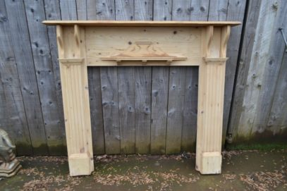 Victorian Pine Fire Surround 3037WS Old Fireplaces