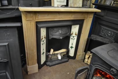Reclaimed Pine Fire Surround 3038WS Antique Fireplace Company