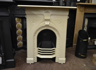 Antique Painted 'Fern' Fireplace 3045MC Old Fireplaces