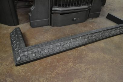 Cast Iron Art Nouveau fender 3048FE Antique Fireplace Company