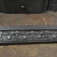 Cast Iron Art Nouveau fender 3048FE Antique Fireplace Company