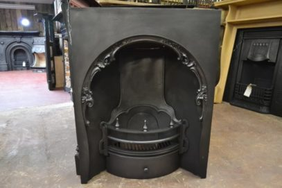 Victorian Arched Fireplace Insert - 3039AI - The Antique Fireplace Co