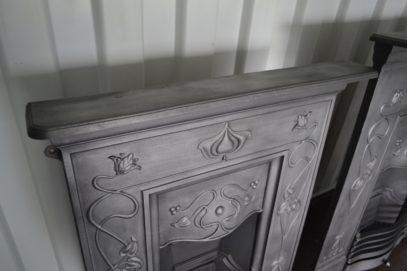 Art Nouveau Fireplace 3054MC - Oldfireplaces