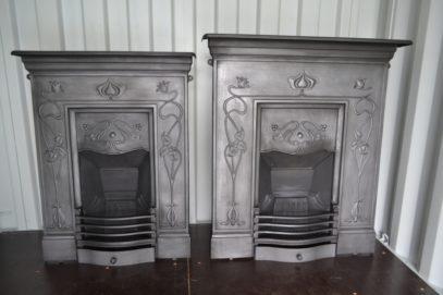Original Art Nouveau Fireplaces