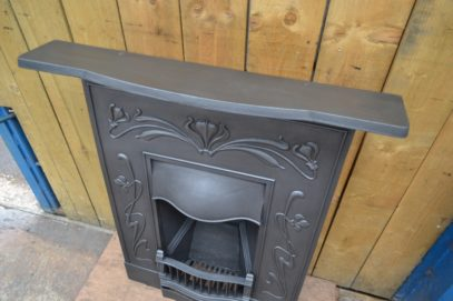 Art Nouveau Bedroom Fireplace - 3056B