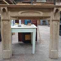 Oak Art Nouveau Fire Surround - 3062WS