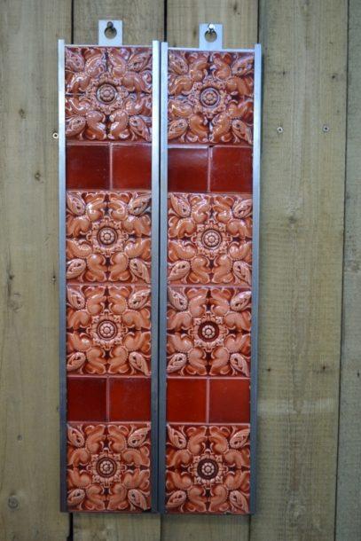 Victorian Fireplace Tiles V001