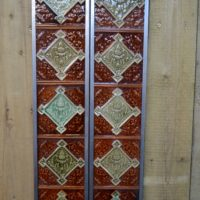 Majolica Fireplace Tile V003