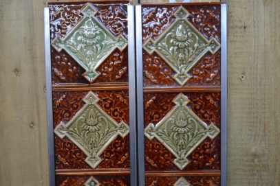 Majolica Fireplace Tile V003