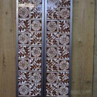 Aesthetic Movement Fireplace Tiles V066