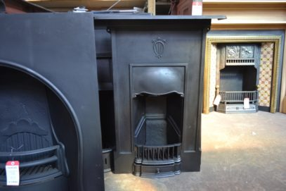 Art Nouveau Bedroom Fireplace 3066B