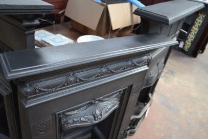Victorian Biclam Fireplace -3073B