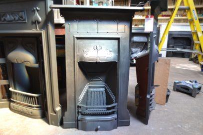 Art Nouveau Bedroom Fireplace 3074B