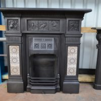Victorian Arts and Crafts Fireplace – 3078TC - The Antique Fireplace Company