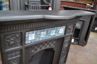 Arts and Crafts Tiled Fireplace - Antique Fireplace Company