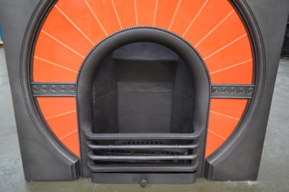 Art Deco Tiled Insert - 1935TI - Oldfireplaces