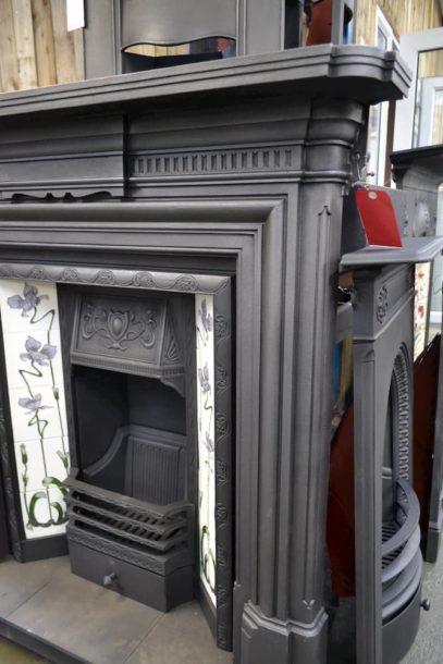 Victorian Cast Iron Fire Surround 3087CS - Oldfireplaces