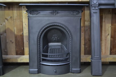 Victorian Cast Iron Fireplace 3088MC - One of a pair