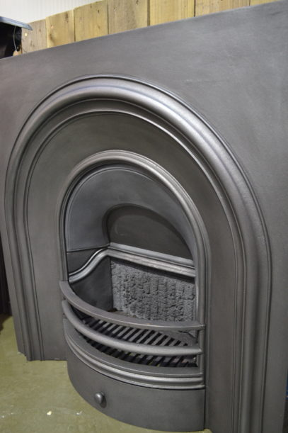 Simple Victorian Arched Insert 3093AI - Old Fireplaces