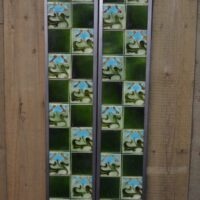 Art Nouveau Fireplace Tiles AN002