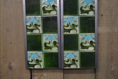 Art Nouveau Fireplace Tiles AN002