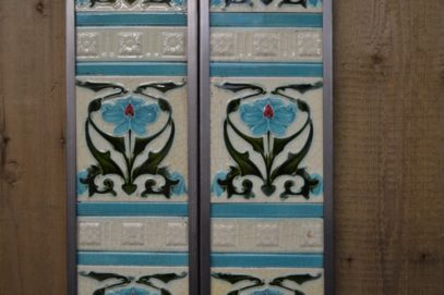 Art Nouveau Fireplace Tiles AN003