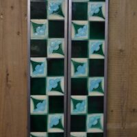 Art Nouveau Fireplace Tiles AN004