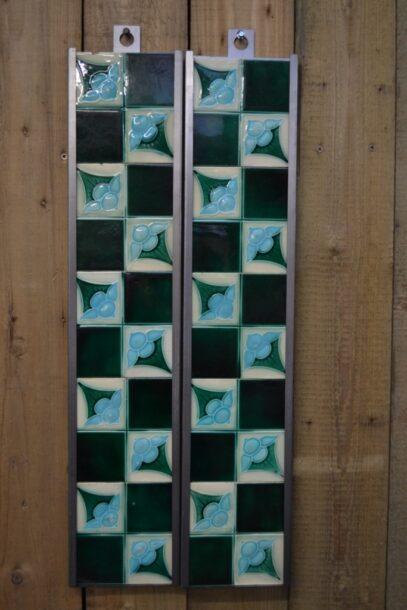 Art Nouveau Fireplace Tiles AN004