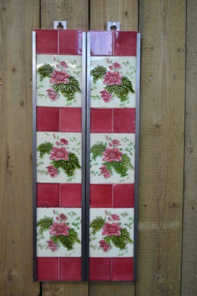 Chrysanthemum Fireplace Tile V002