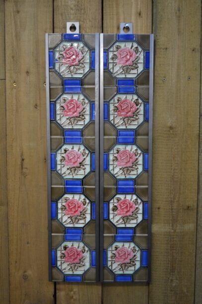 Victorian Fireplace Tiles V005