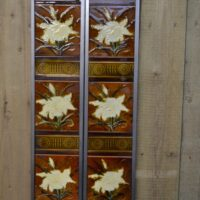 Victorian Fireplace Tiles V016