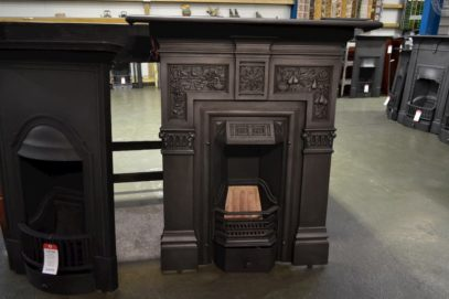 Victorian Fireplace Decorated with Pears and Grapes - 3088MC - The Antique Fireplace Company