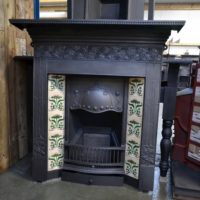 Art Nouveau Tiled Combination with Ivy detail 3099TC - Oldfireplaces