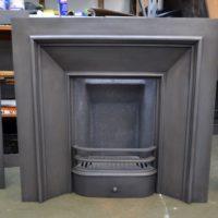 Georgian Cast Iron Square Insert 4002I - Antique Fireplace Company