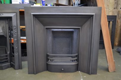 Georgian Cast Iron Square Insert 4002I - Antique Fireplace Company