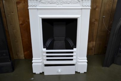 Painted Victorian Daisy Bedroom Fireplace 4003B - Oldfireplaces