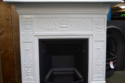 Victorian Cast Iron Painted Fireplace 4005LC - Oldfireplaces