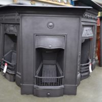 Edwardian Bedroom Fireplace Restored 4011B - Antique Fireplace Company
