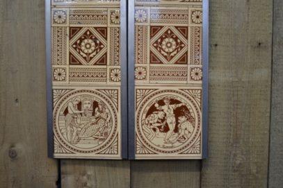 Shakespeare Fireplace Tiles Arts005